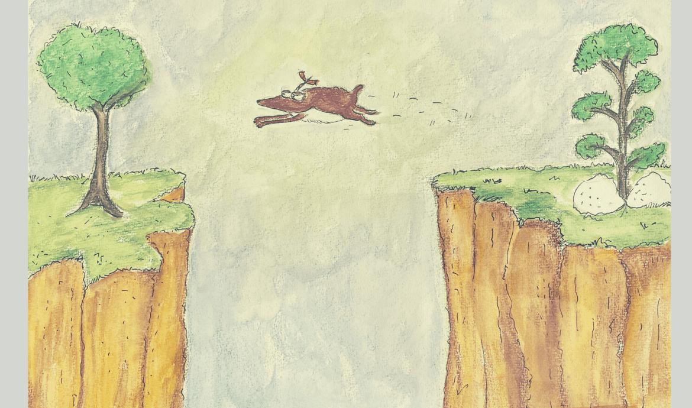 Ik spring
